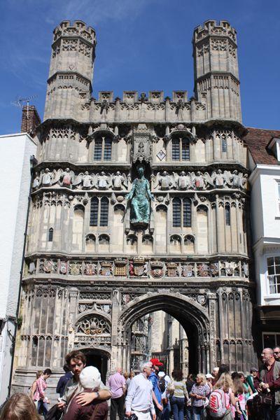 ロンドン滞在記 その2 カンタベリー大聖堂