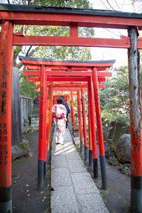 根津神社に初詣