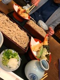 京都のそば処「尾張屋」